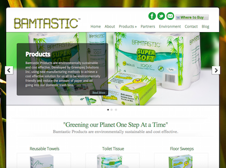 BamtasticProducts.com (Sustainability)